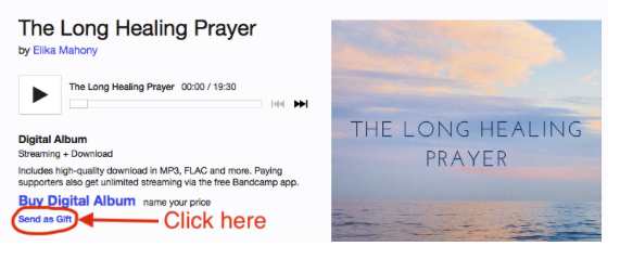 Moving stories about the Long Healing prayer