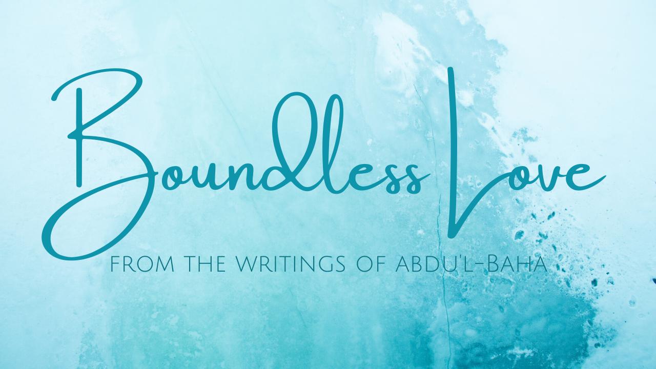 Boundless Love handwritten lyric video