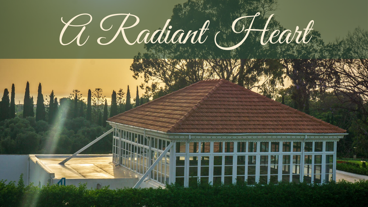 A Radiant Heart – new video