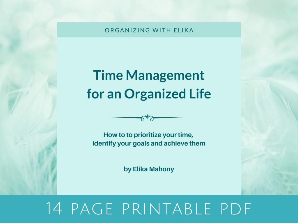 Time management for an organised life