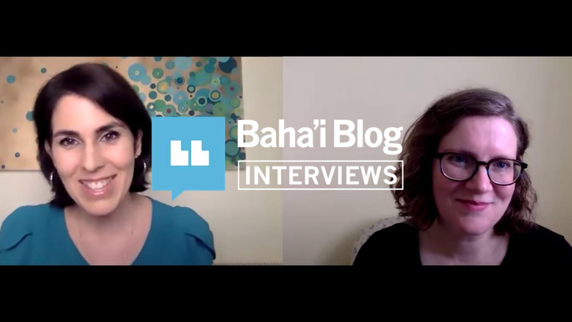 Elika Mahony interview with Baha'i Blog