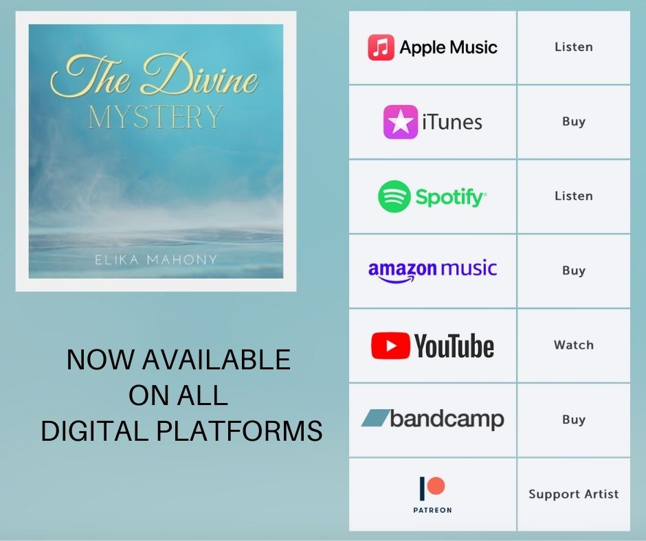The Divine Mystery available on all digital platforms