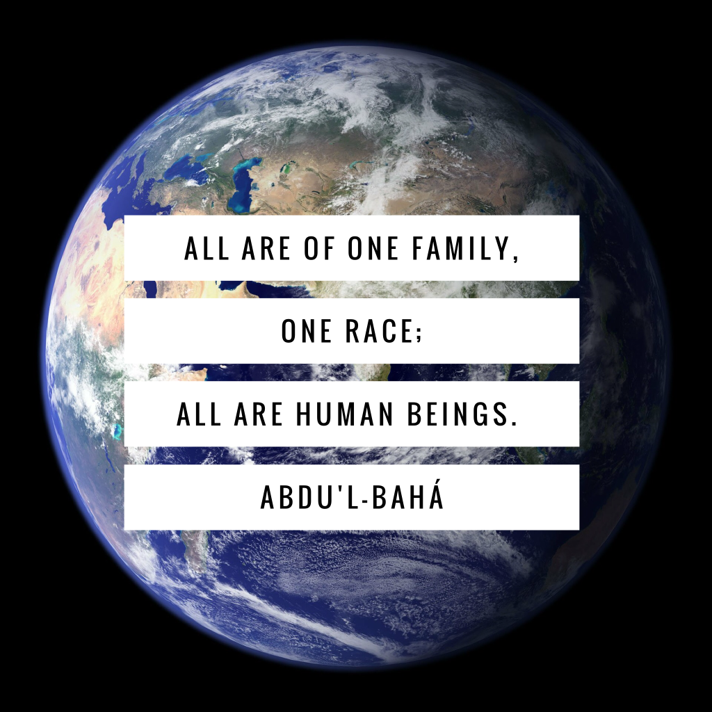 All are of one family