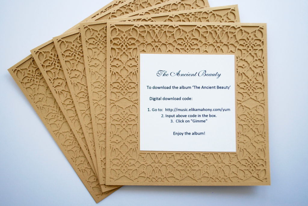 The Ancient Beauty Digital card set of 5