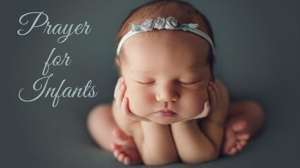 Prayer for Infants Youtube cover